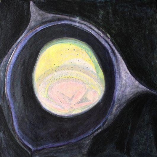 Chrysalis - Acrylic on Canvas by Kirsty Stellar