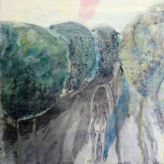 lynch street - acrylic on canvas